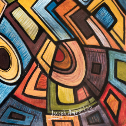 Artprint Joseph Amedokpo – Magic Trouble (70 × 100cm)